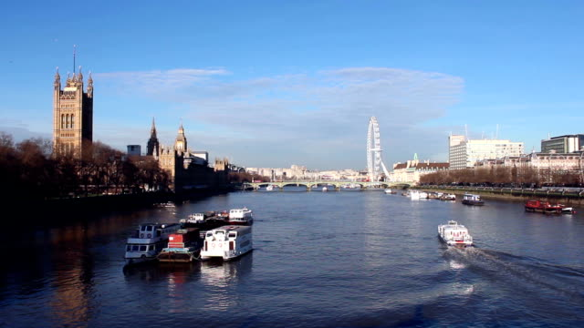 Parliament and Westminster Bridge 2 video