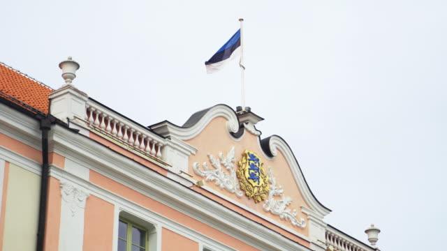 Parliament Building Of Estonia. Toompea castle.