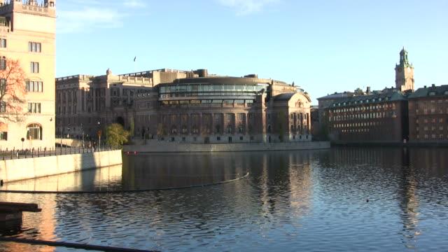parliament building - sweden bildbanksvideor och videomaterial från bakom kulisserna