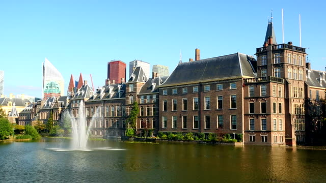 stockvideo's en b-roll-footage met parliament buildings in the hague - den haag