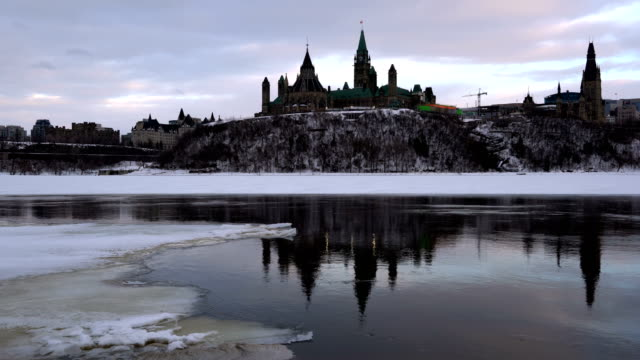 parliament hill in ottawa - victorian architecture stock videos & royalty-free footage
