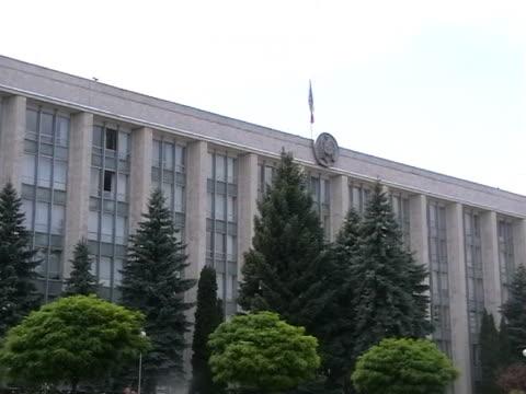 parlament mołdowy - polityka i rząd filmów i materiałów b-roll