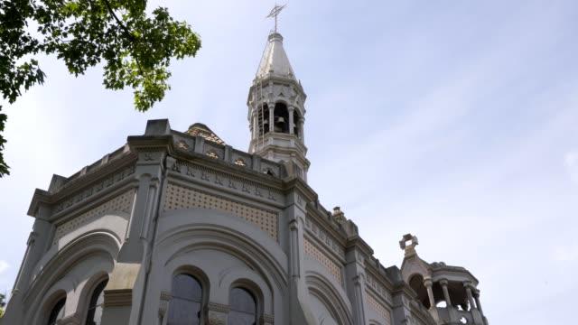 vídeos de stock e filmes b-roll de parque de la salette park church in oliveira de azemeis, portugal - aveiro
