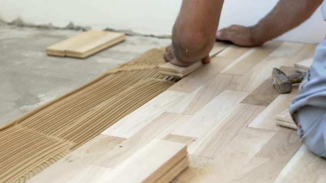 Royalty Free Wood Laminate Flooring Hd Video 4k Stock Footage B