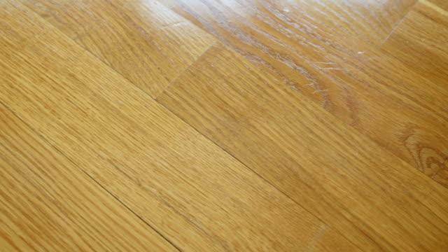 Parquet. Natural wooden texture. video