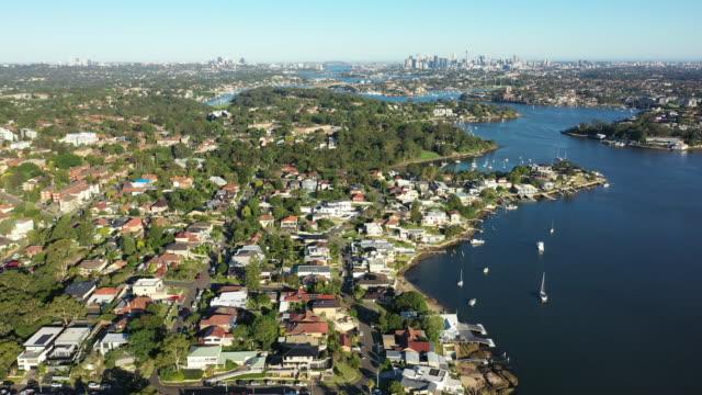 파라 마 타 강입니다. - 시드니 뉴사우스웨일스 스톡 비디오 및 b-롤 화면