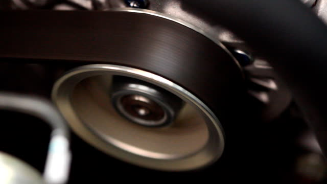 Part of car engine video