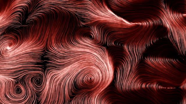 partical strimma virvlar - topografi bildbanksvideor och videomaterial från bakom kulisserna