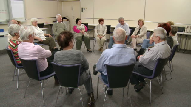HD DOLLY: Participating The Group Discussion video