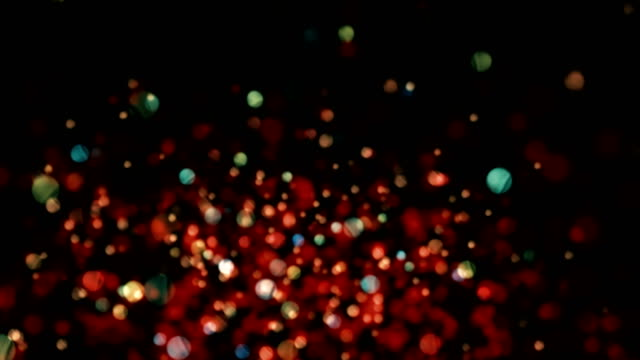 Particle Abstract Background video
