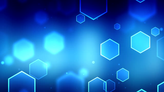 Particle Blue Backgrounds\tLoopable video