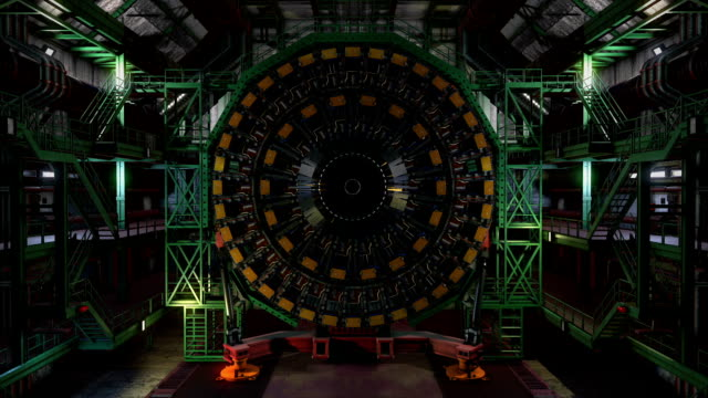 lhc particle detector lab start up - physics stock videos and b-roll footage
