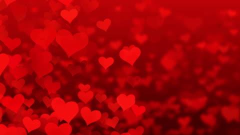 vídeos y material grabado en eventos de stock de partículas vuelan corazones de san valentín de fondo abstracto 4k - parte del cuerpo humano