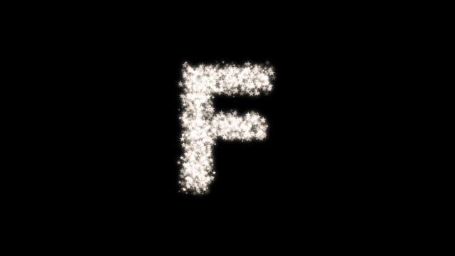 particle star_f - kawaii video stock e b–roll