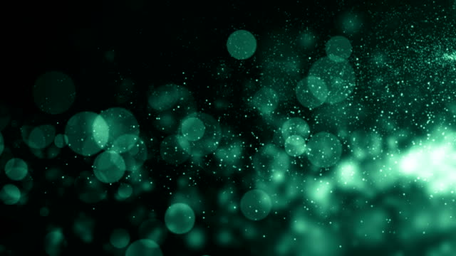 Particles dust abstract light bokeh motion titles cinematic background loop