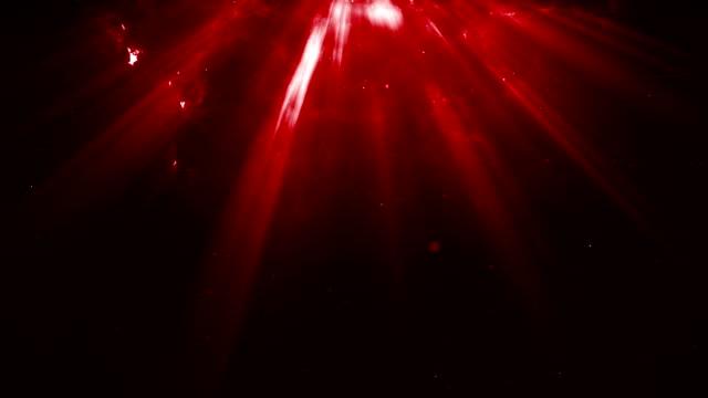 vídeos de stock e filmes b-roll de particles dust abstract light bokeh motion titles cinematic background loop - suavidade