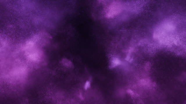 Particles in Motion (Purple) - Loop