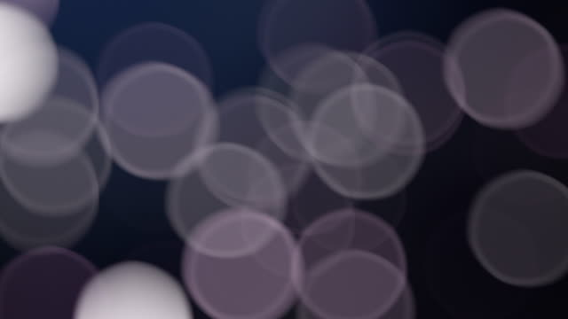 Particles. Molecules as bluish light. Loop. video