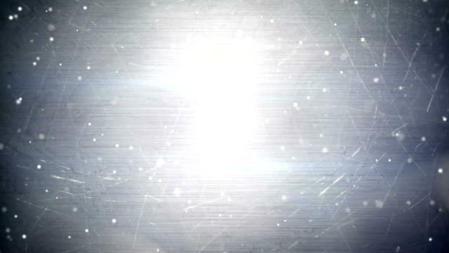 particles over metal seamless loop background video