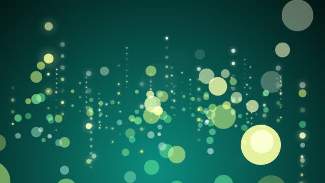 Particules qui brille en 4 k résolution. - Vidéo