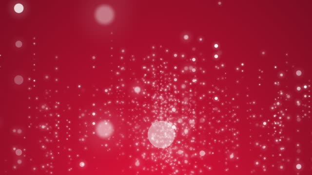 Particles shining in 4k resolution. video