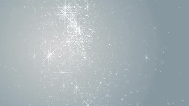 parçacıklar beyaz iş parlak glitter bokeh toz soyut arka plan döngü - bling bling stok videoları ve detay görüntü çekimi