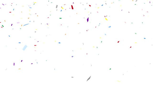 Party confetti - alpha channel