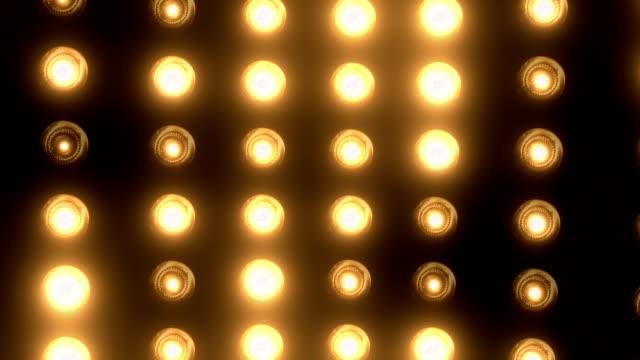 party lights (endlos wiederholbar) - led leuchtmittel stock-videos und b-roll-filmmaterial