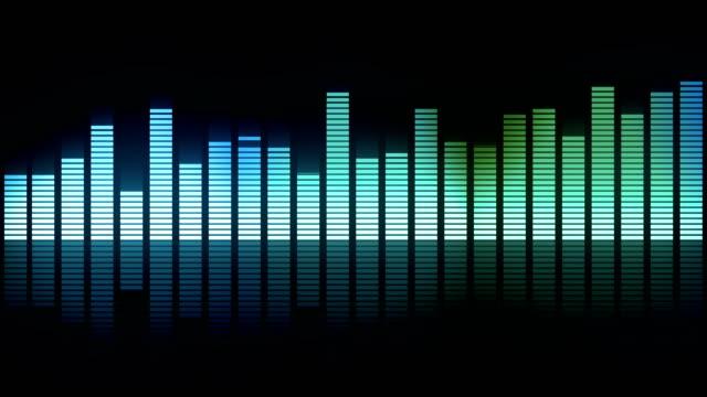 party musik equalizer - dansbana bildbanksvideor och videomaterial från bakom kulisserna