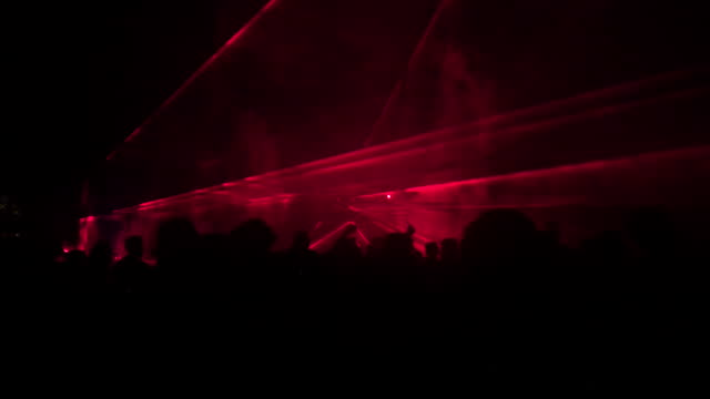Party with Laser Show video