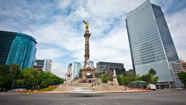 LAPSO DE TIEMPO: Paseo de la Reforma de la ciudad de México - vídeo