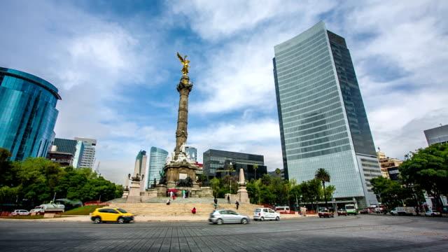 Paseo de la Reforma de la ciudad de México - vídeo