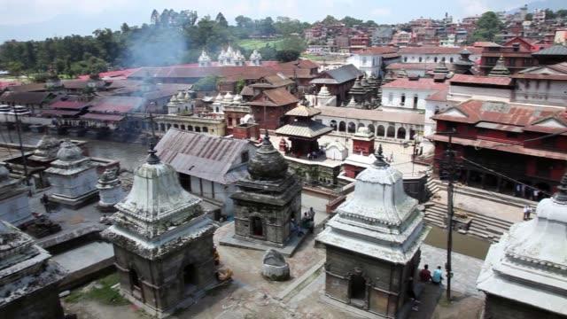 Pashupatinath Temple in Kathmandu, Nepal video