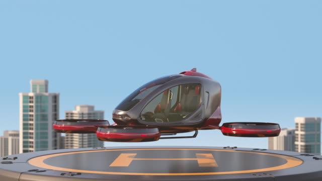 passenger drone - pasażer filmów i materiałów b-roll