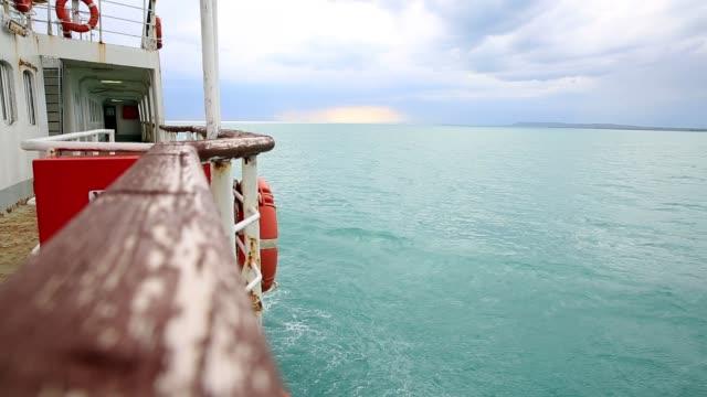 ヴァン湖の旅客船 - アナトリア点の映像素材/bロール
