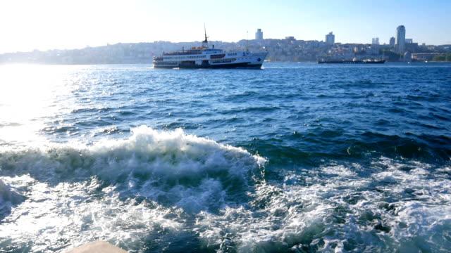 Yolcu gemi deniz video