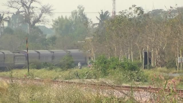 Passenger train video