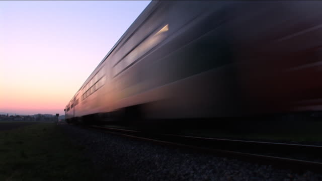 HD: Passenger train video