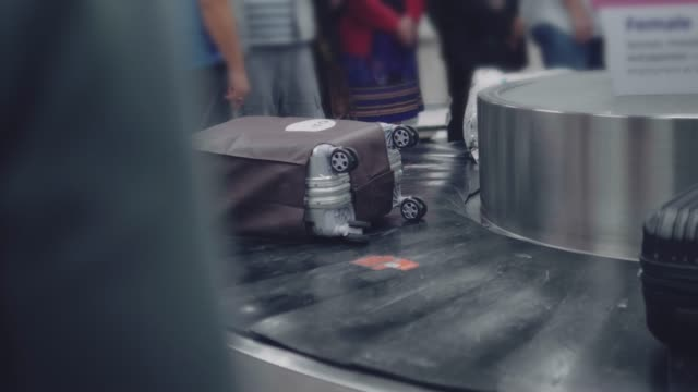 Passenger Waiting for Luggage video