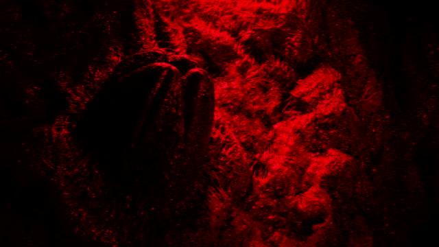 Passing Alien Egg In Cave On Mars video