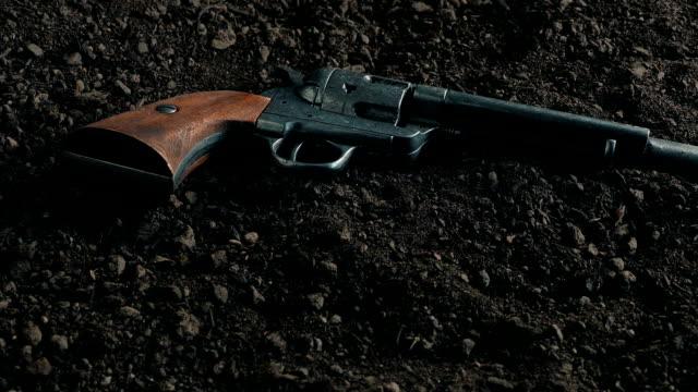 Passing Cowboy Gun On The Ground video