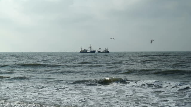 Passing Fishing Vessels video