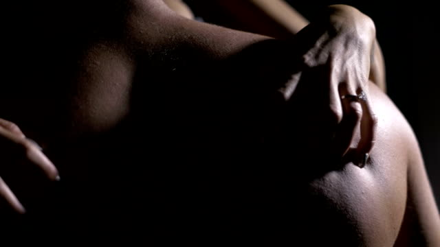 Passionate lovers in the night Passionate lovers in the night desire stock videos & royalty-free footage