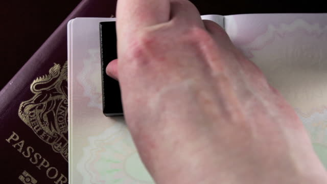 英国パスポートスタンプ'You Gorgeous'にも ビデオ