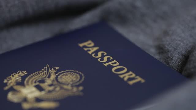 米国のパスポート ビデオ