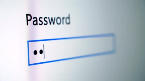 Password Entry Process Password Entry Process is a great stock video that contains footage of a black computer screen with a password entry bar. identity stock videos & royalty-free footage