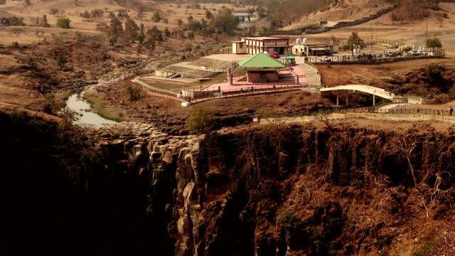 patalpani waterfall, india - madhya pradesh filmów i materiałów b-roll