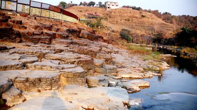 patalpani waterfall location - madhya pradesh filmów i materiałów b-roll