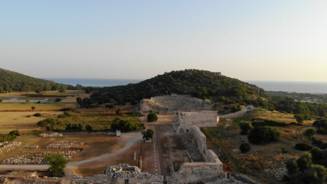 patara ancient city - archeologia video stock e b–roll
