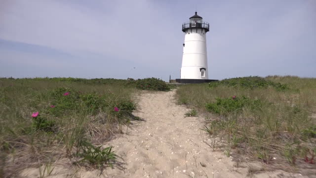 Path Through Dunes to Lighthouse video